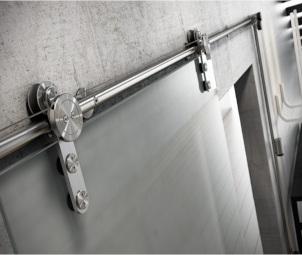 Stumdomų stiklo durų sistemos
