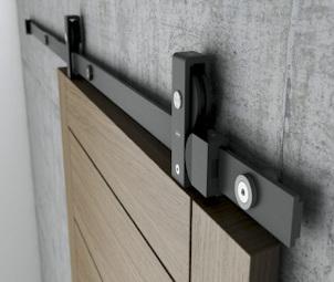Stumdomų durų sistemos